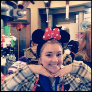 Every girl wants to be Minnie Mouse at some stage in her life.